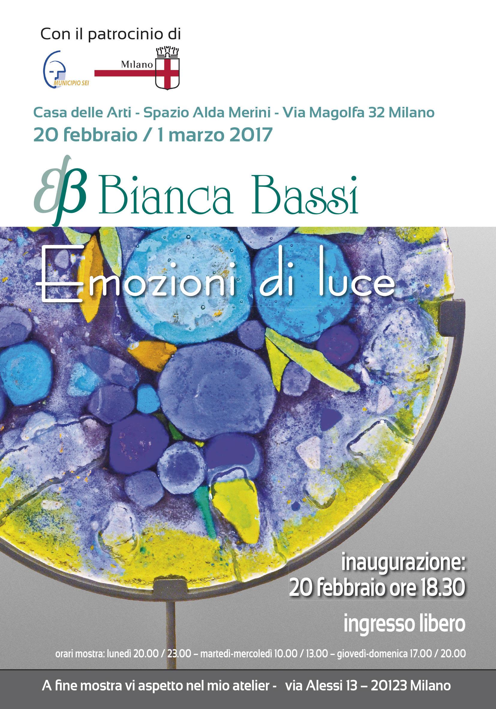 Bianca Bassi - EVENTI - 2017 - Spazio Alda Merini