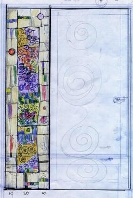 Sketch for door