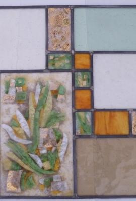 vetrata divisorio ambienti,particolare