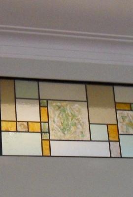 vetrata divisorio tra due ambienti