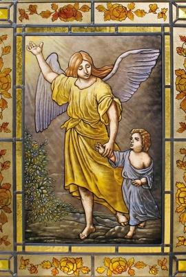 Arcangelo con Bambino