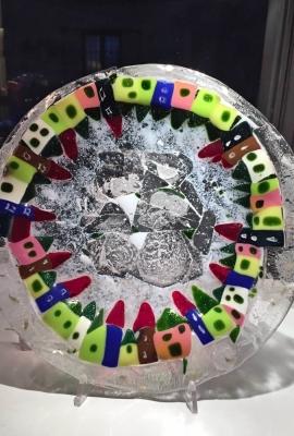 Dish Christmas Colors